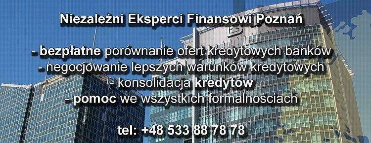 Doradca Finansowy Poznań - Doradca kredytowy